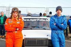 2016-Szilveszter Rallye-rekordok-női navigátor