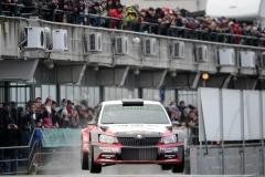 2017-Szilveszter Rallye-csütörtök-Vincze Ferenc, Bazsó Attila