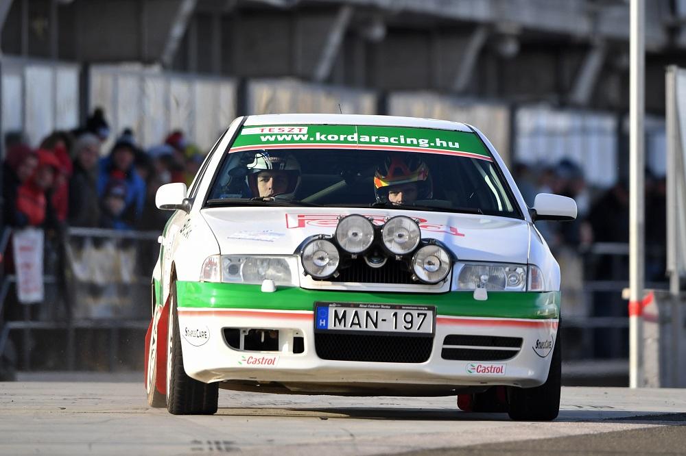 2019-Szilveszter Rallye-második szakasz-szombat1-némethpeti