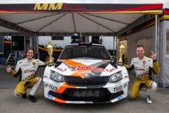 2018-Szilveszter Rallye-győztes-Bisaha